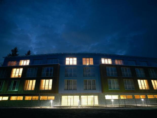 Hotel Bellevue - noću