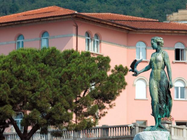 Hotel Milenij - bašta