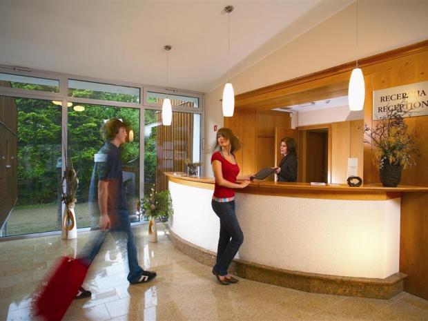 Hotel Bellevue - recepcija