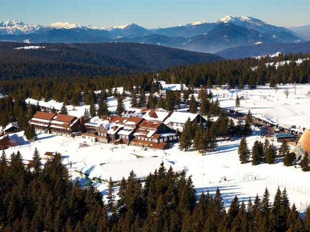 Rogla - zimska panorama