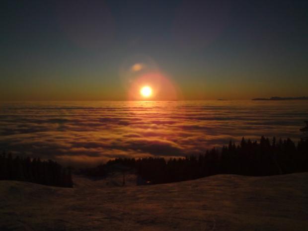 Zalazak sunca (pogled sa hotela Raj)