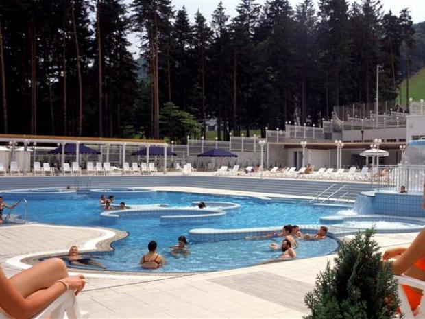 Hotel Habakuk - spoljašnji termalni bazeni