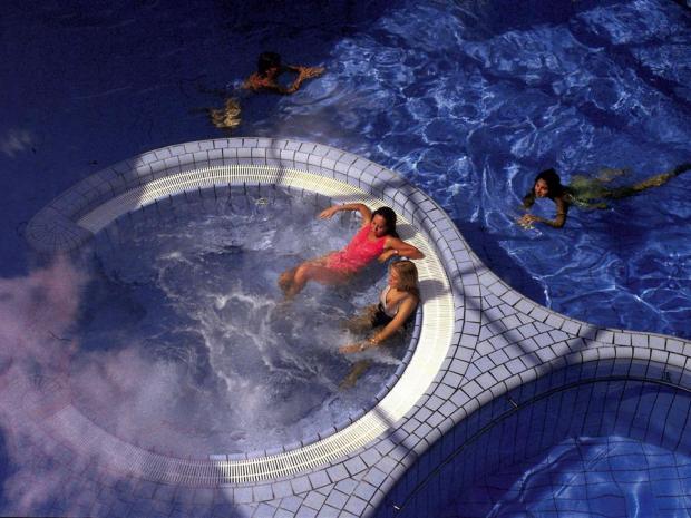 Hotel Habakuk - termalni bazeni