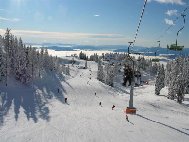 Ski spust