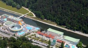 Thermana Laško - panoramski pogled na hotele